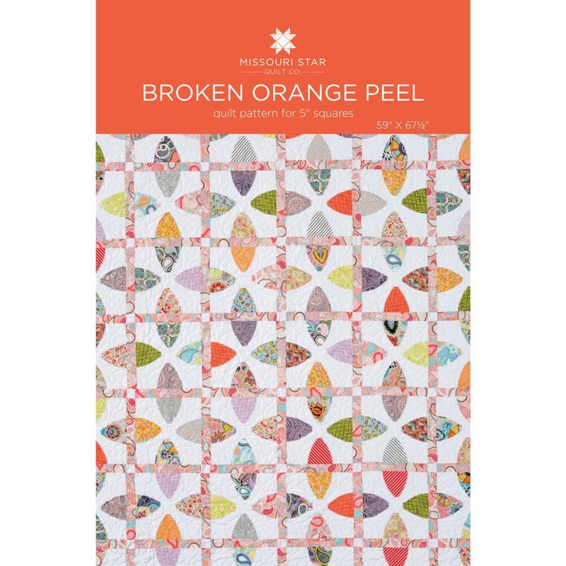 Broken Orange Peel Quilt Pattern by MSQC - MSQC - MSQC — Missouri ... : orange peel quilt - Adamdwight.com