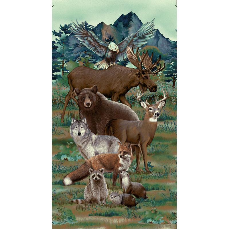 Woodland Wonders - Animals Spruce Panel