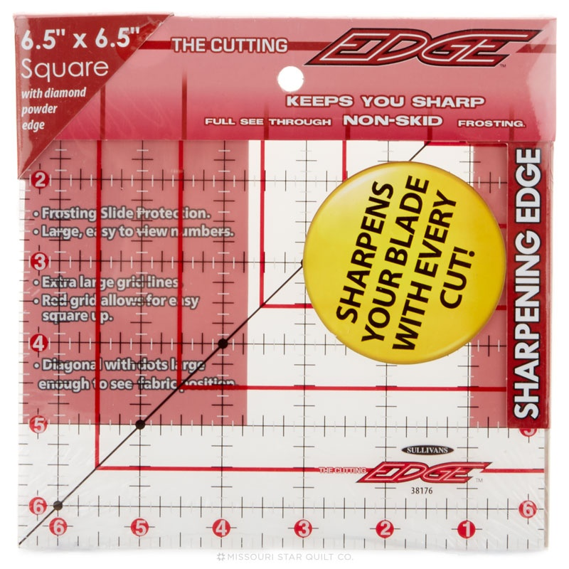 Cutting Edge Sharpening Edge Ruler - 6.5