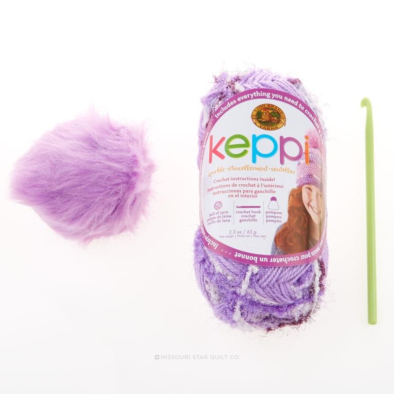 Keppi Crochet Kits - Grape Jelly