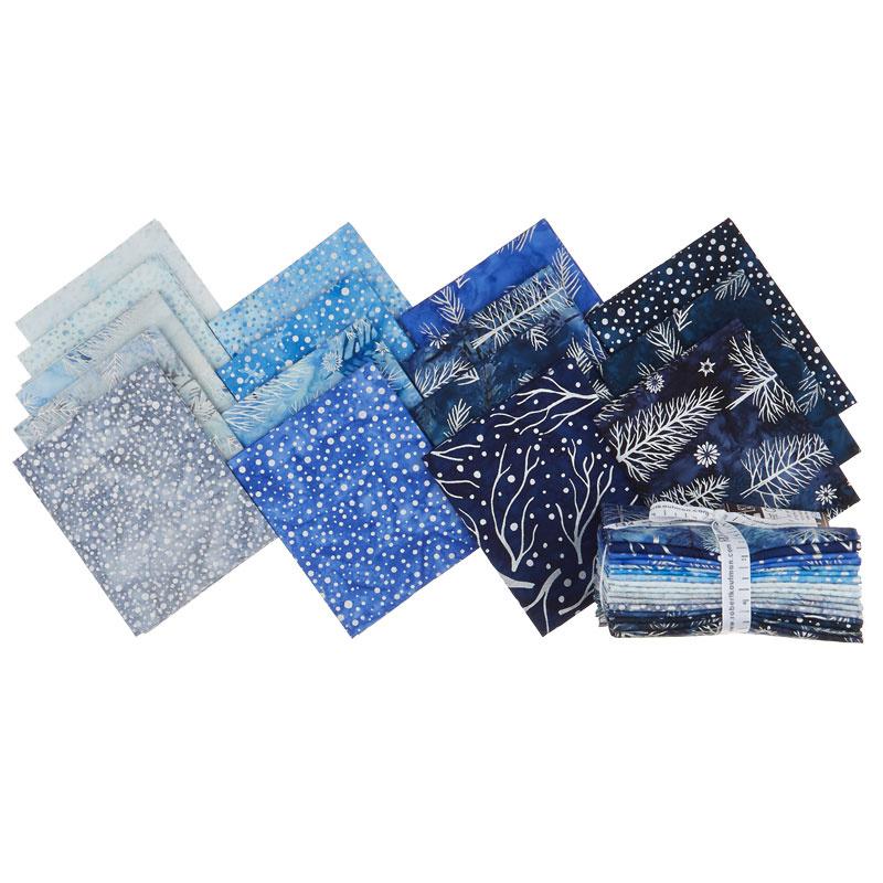 Artisan Batiks - Northwoods 8 Metallic Fat Quarter Bundle