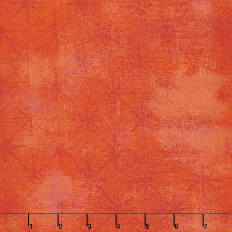 Grunge Seeing Stars - Tangerine Yardage