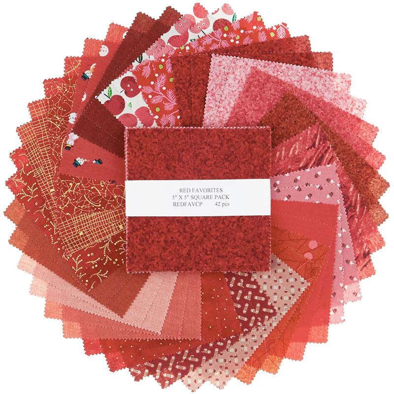 Red Mystery Designer Favorites 5