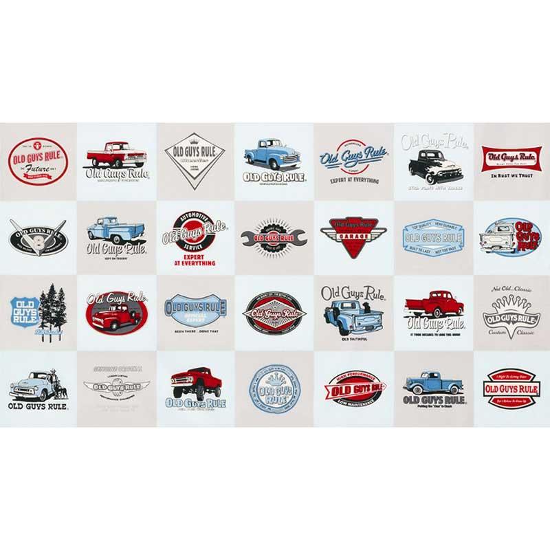 Old Guys Rule - Trucks Grey Panel