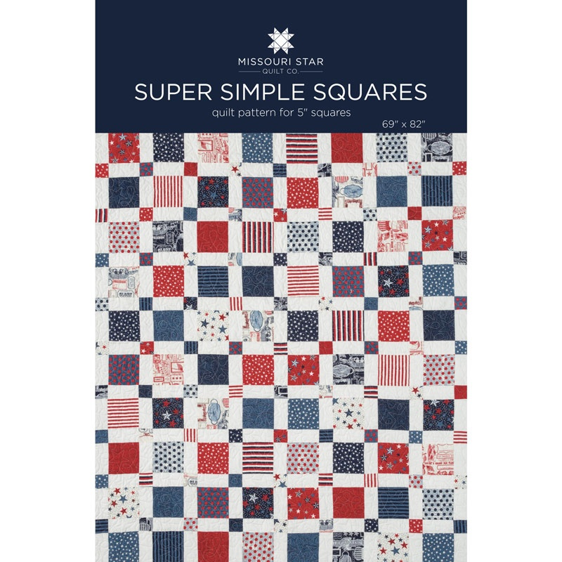 Super Simple Squares Quilt Pattern By Msqc Missouri Star