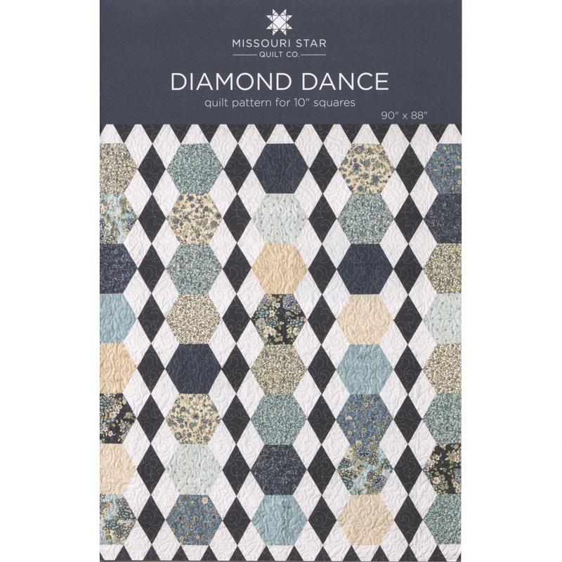 Diamond Dance Quilt Pattern By Missouri Star Missouri