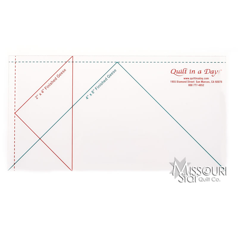Large Flying Geese Ruler (4
