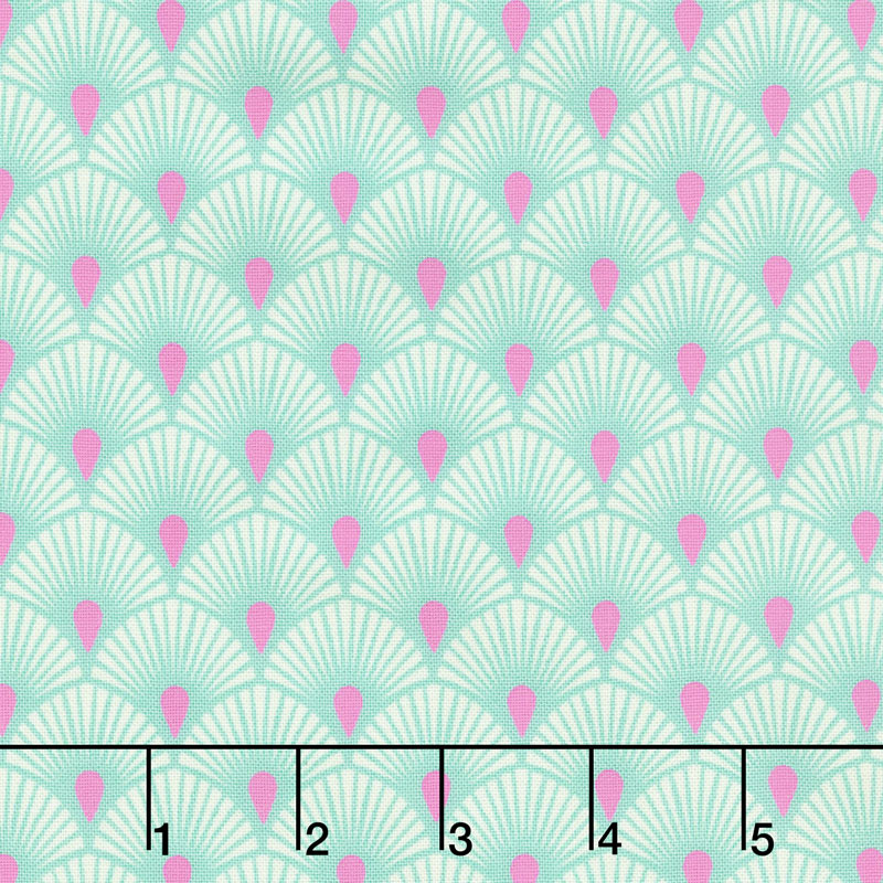 Pinkerville - Serenity Cotton Candy Yardage