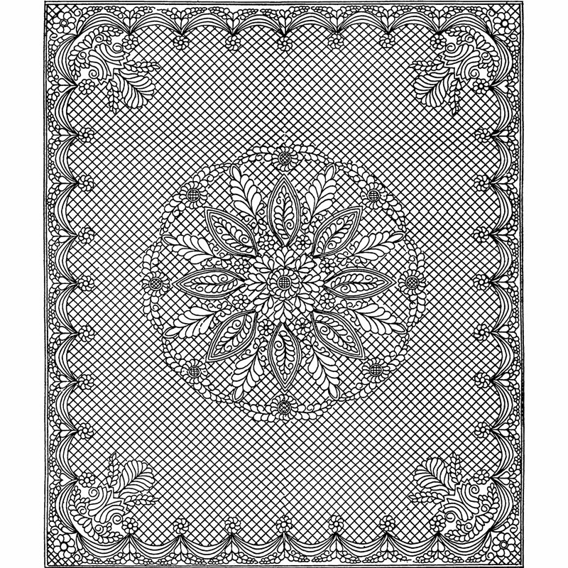 Welsh Beauty Wholecloth Kit - White - Holice Turnbow - Benartex ... : wholecloth quilt kit - Adamdwight.com