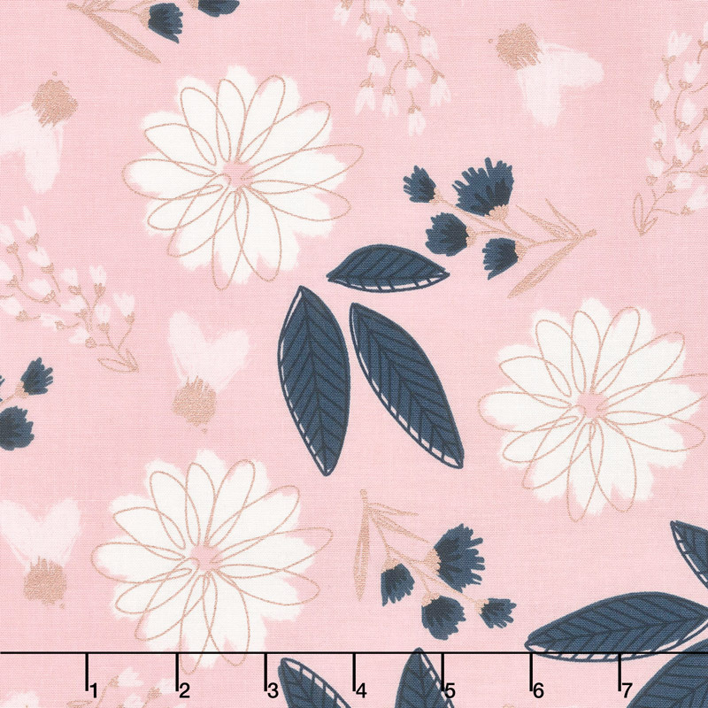 Blush - Main Pink Sparkle Yardage