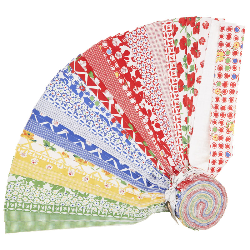 Feed Sacks: Red Rover Jelly Roll