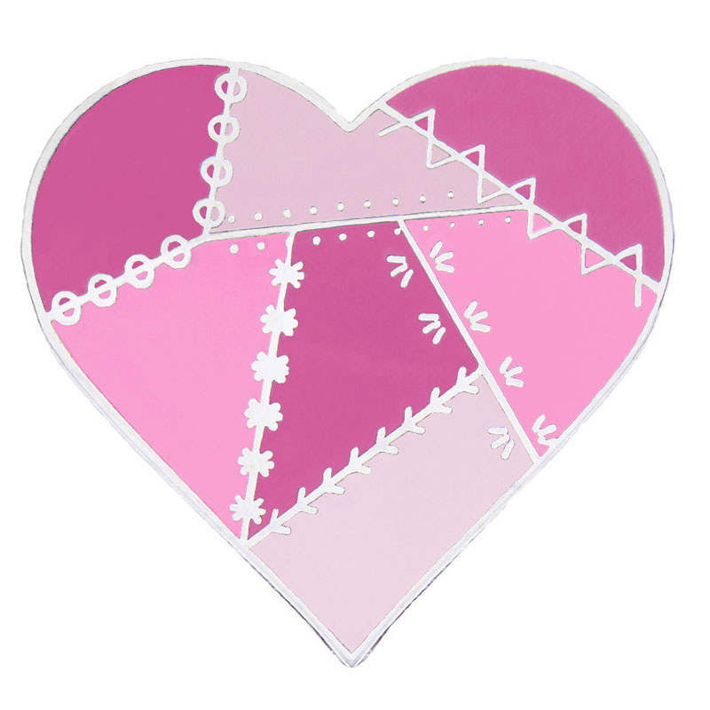 Heart of Hope Pin by Pin Peddlers