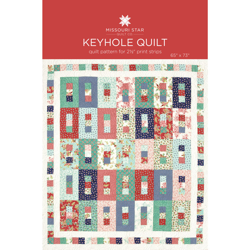 Keyhole quilt pattern by msqc missouri star quilt co for Front door quilt pattern