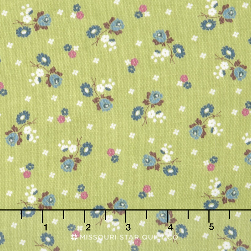 Anne of Green Gables - Anne Blossoms Green Yardage