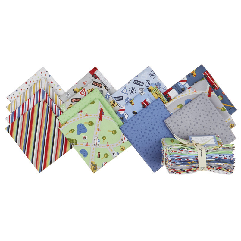 Keep On Truck'n Fat Quarter Bundle