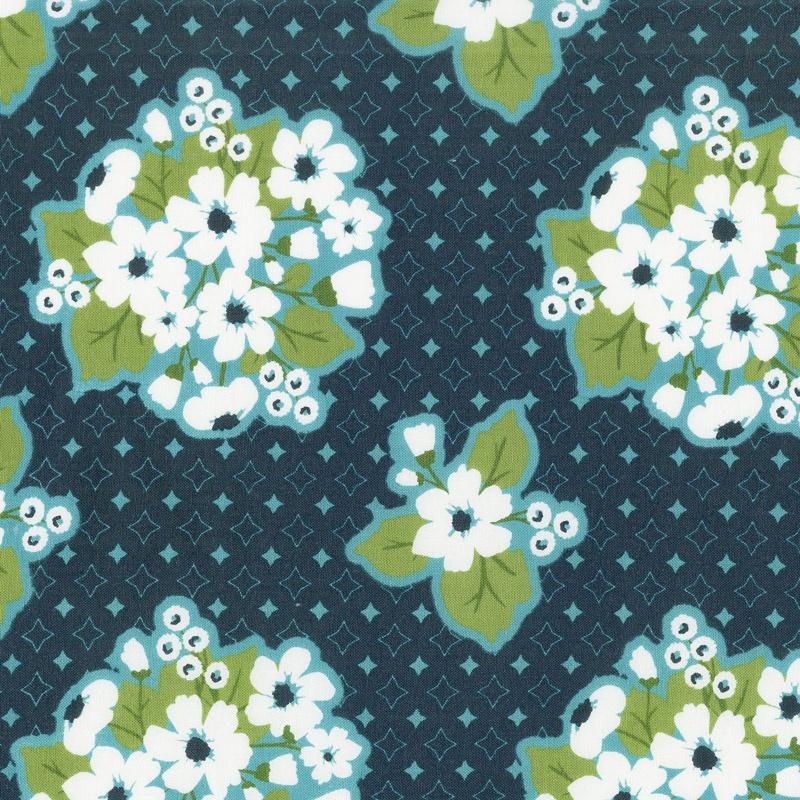All-Weather Friend - Last Blooms Midnight Yardage