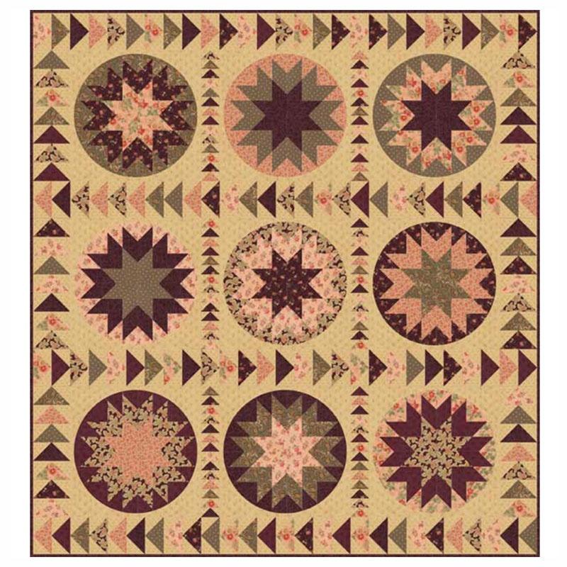 Courtyard Kit 3 Sisters Moda Fabrics Missouri Star Quilt Co