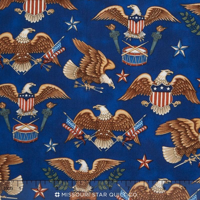 Pride & Glory - Eagles Blue Yardage