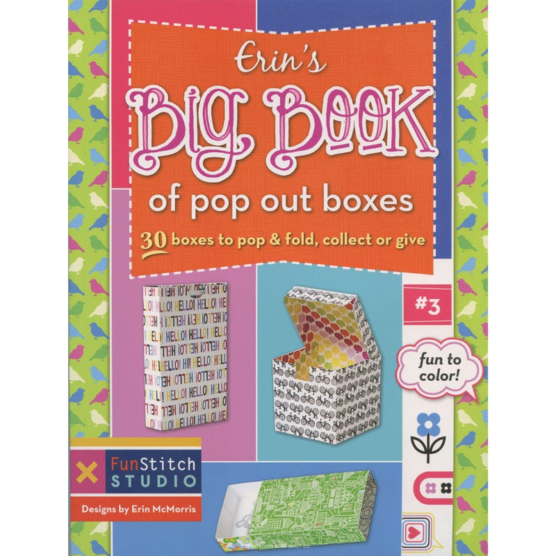 Erin's Big Book of Pop Out Boxes