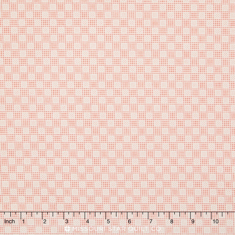 Downton Abbey - The Downstairs Collection Red Gridded Yardage