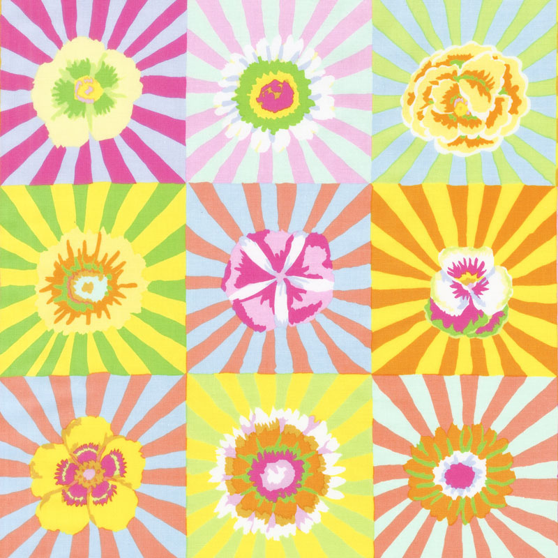 Kaffe Fassett Collective Fall 2017 - Sunrise Sunburst Yellow Yardage