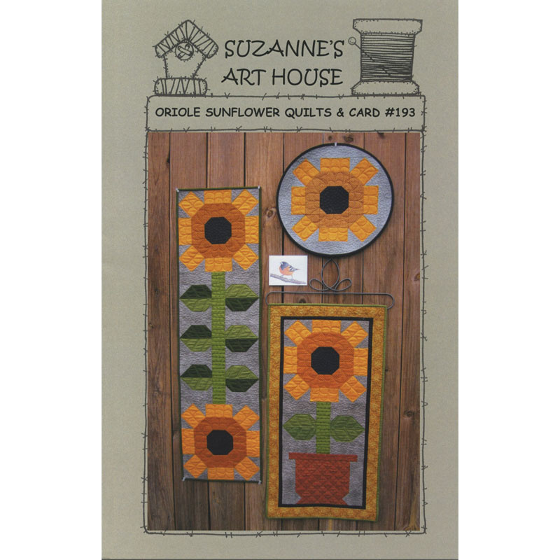 Oriole Sunflower Pattern