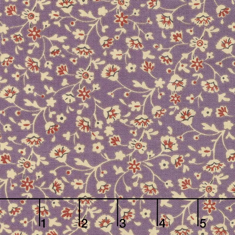 Susanna's Scraps - Berry Patch Thistle Yardage