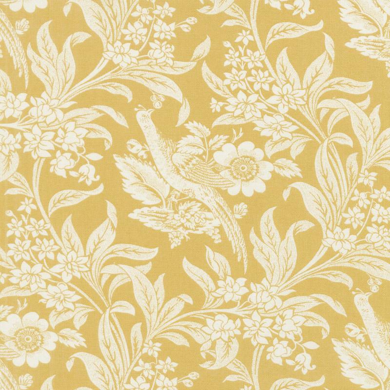 Regency Sussex - Arundel Circa 1800 Sudbury Yellow Yardage