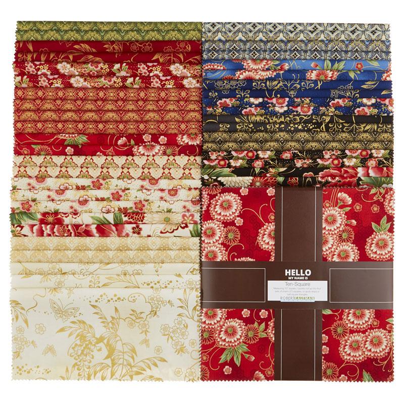 Imperial Collection 15 - Spring Metallic Ten Squares