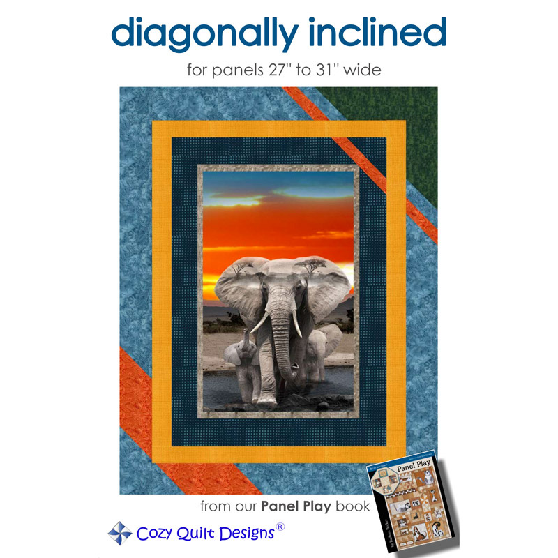 Diagonally Inclined Panel Pattern