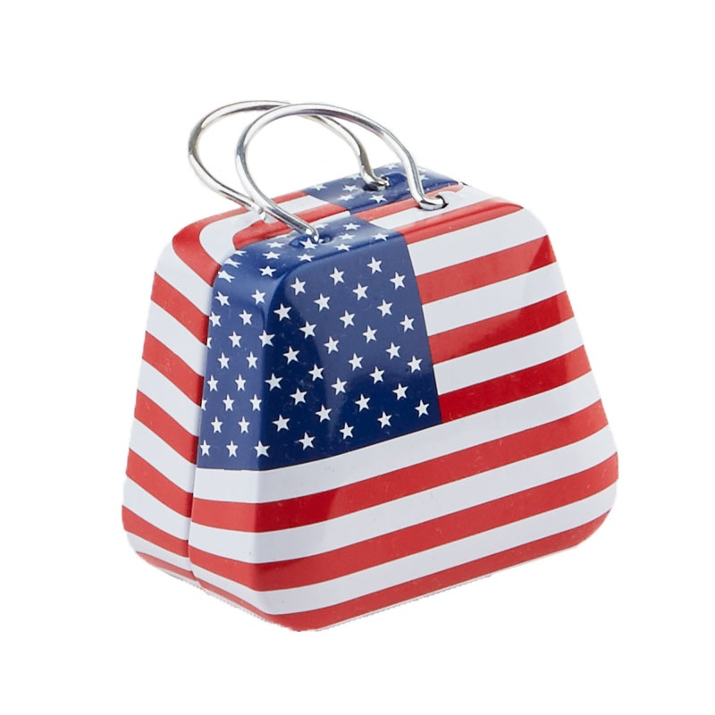 Mini American Flag Tin Sewing Kit