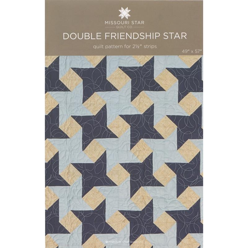 Double Friendship Star Quilt Pattern by MSQC - MSQC - MSQC Missouri Star Quilt Co.