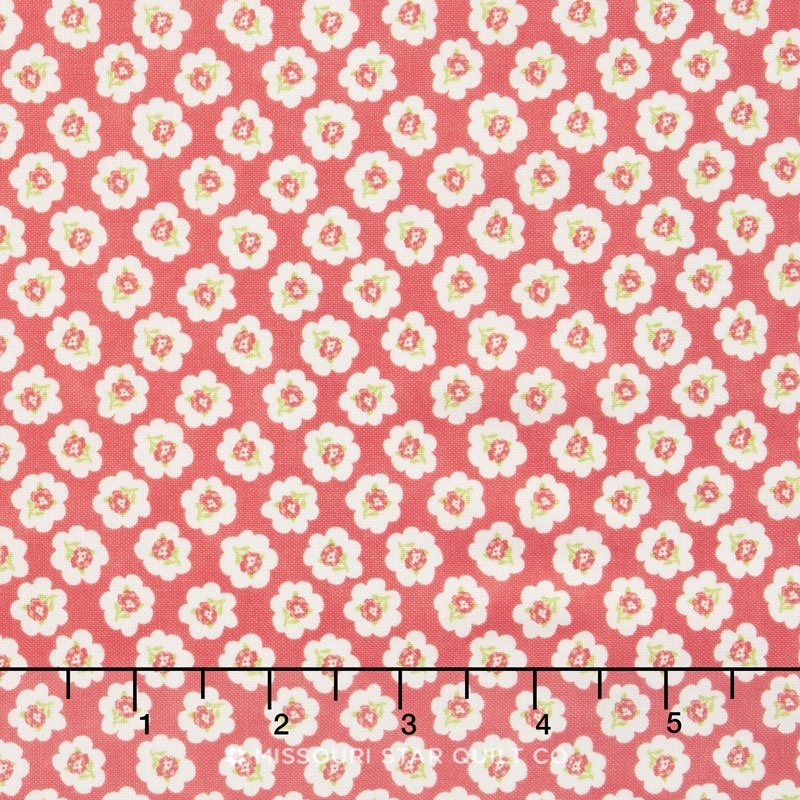 Coney Island - Cotton Blossoms Candy Apple Red Yardage