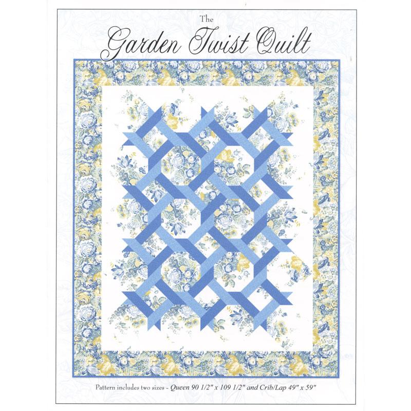 Garden Twist Pattern Sharon Evans Yenter In The Beginning Fabrics