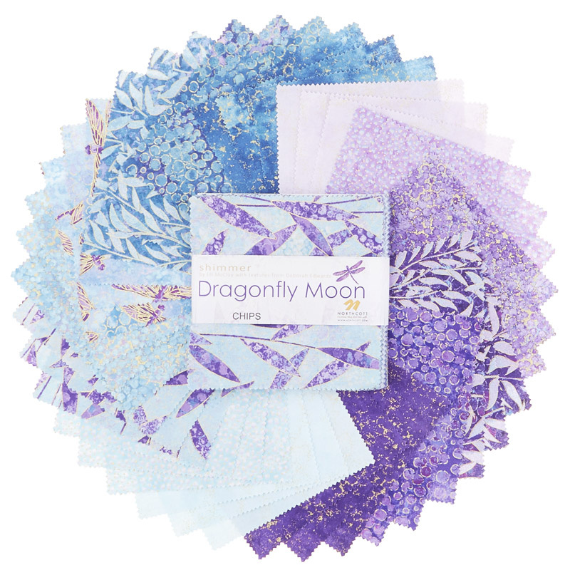 Shimmer Dragonfly Moon Royal Garden Chips