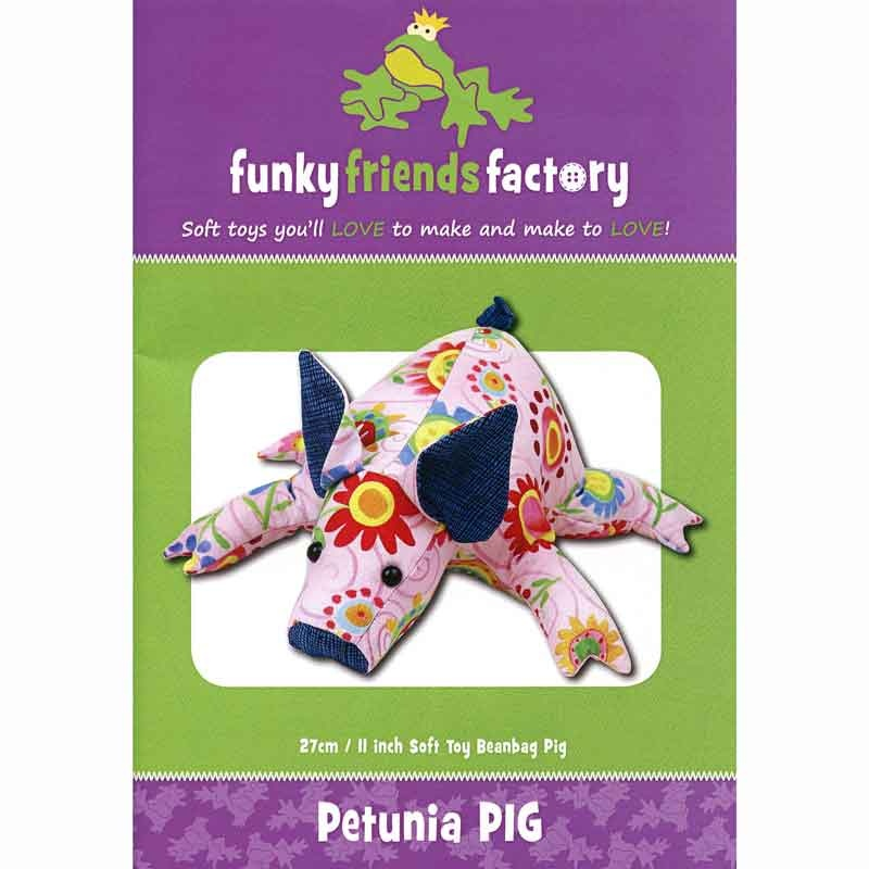 Petunia Piglet Funky Friends Factory Pattern
