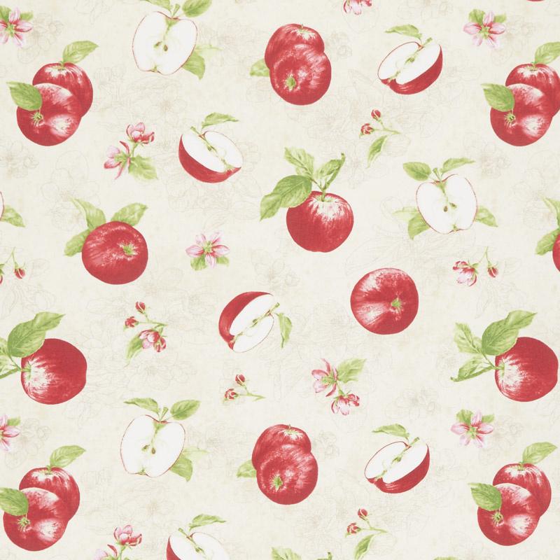 Apple Festival - Tossed Apples Cream Yardage