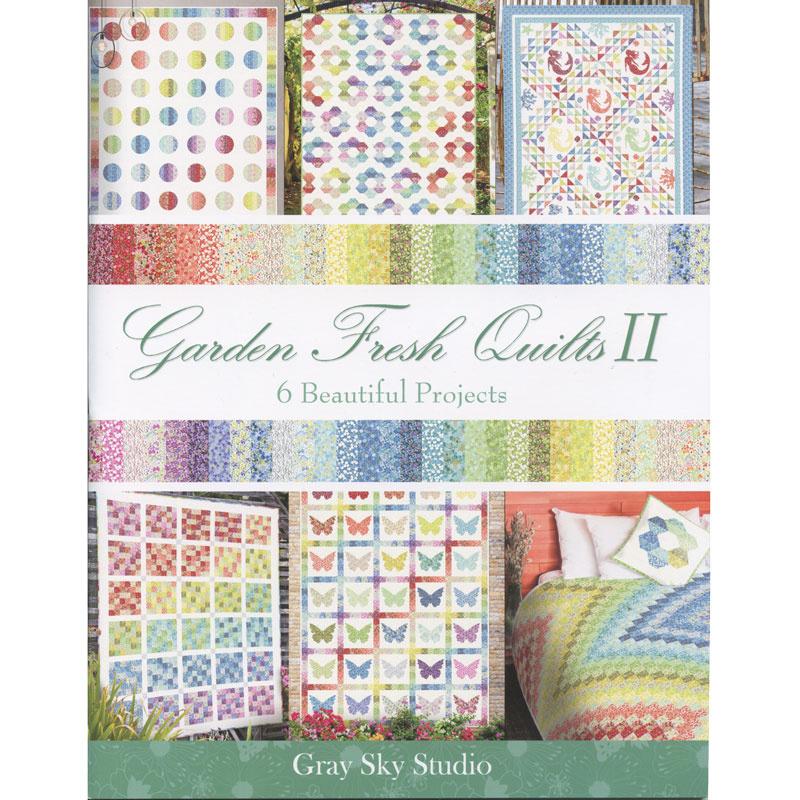 Garden Fresh Quilts II Book