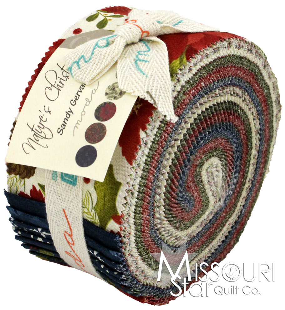 natures christmas jelly roll