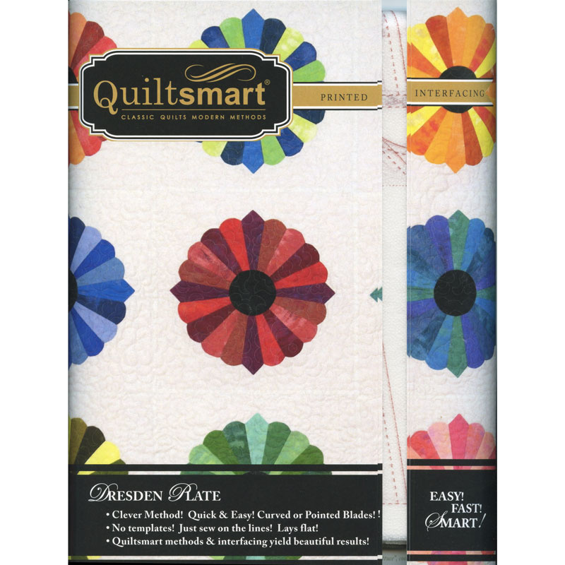 Quiltsmart® Dresden Plate Pattern with Interfacing
