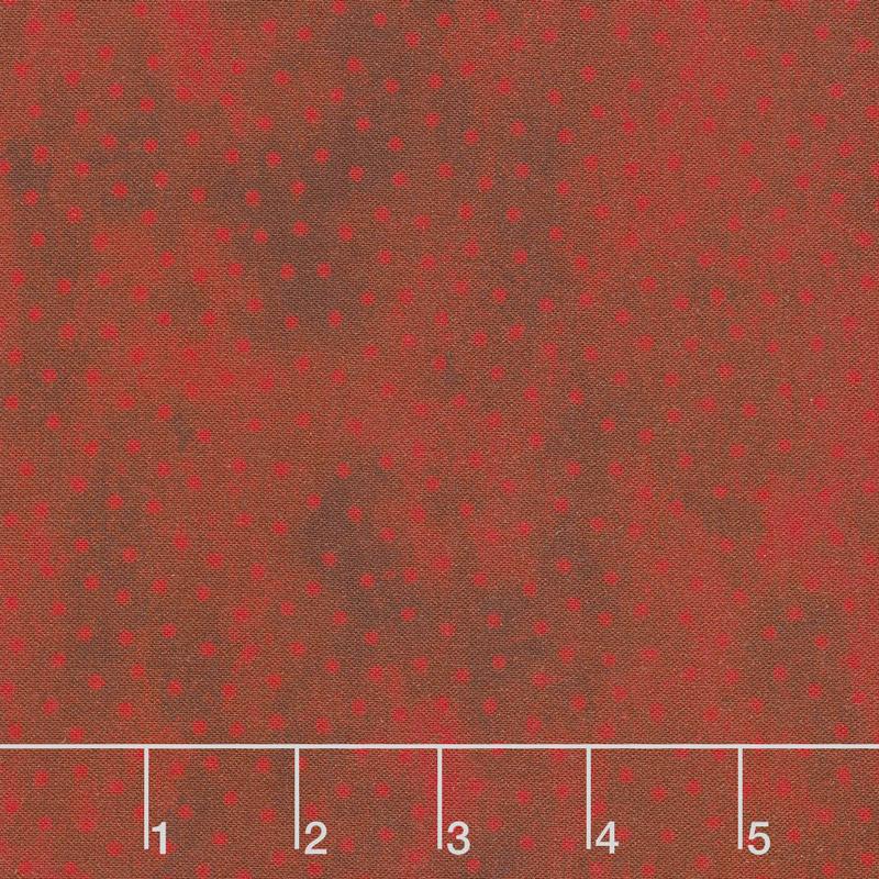 Deck the Halls - Dots Red Yardage