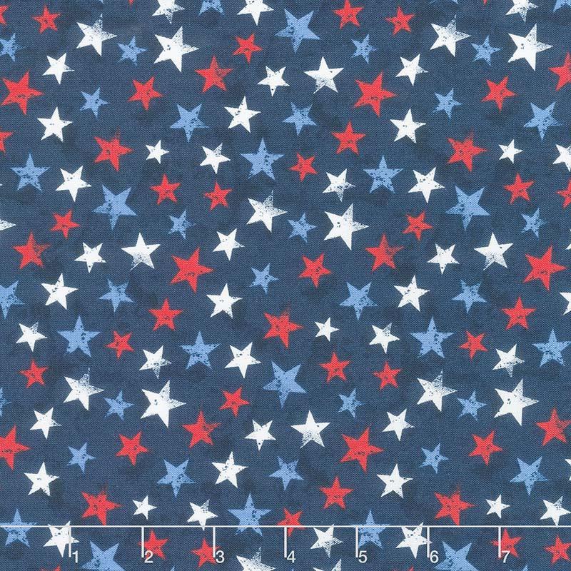 America, My Home - Star Toss Multi Yardage