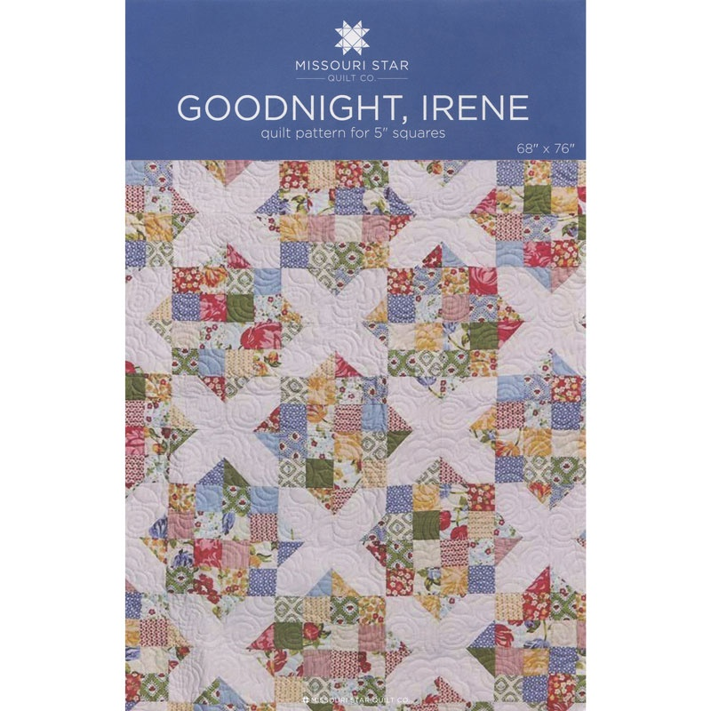Goodnight, Irene Quilt Pattern by MSQC - MSQC - MSQC — Missouri ... : missouri quilting - Adamdwight.com