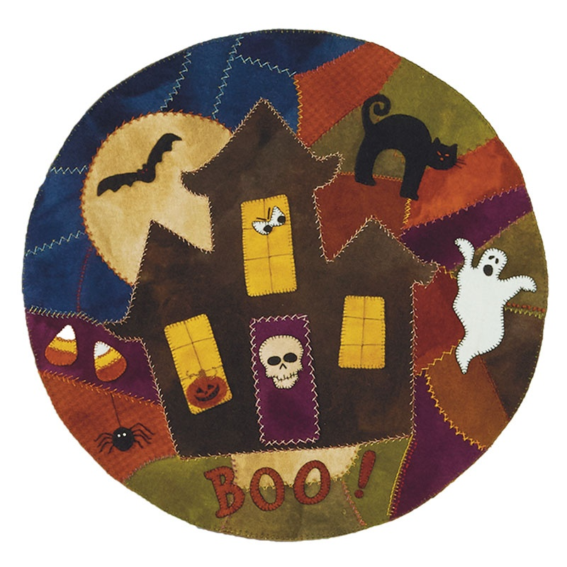 Spooky House Crazy Table Mat Kit