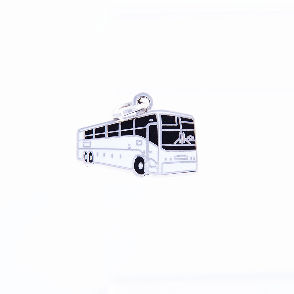 Bus Charm by Pin Peddlers