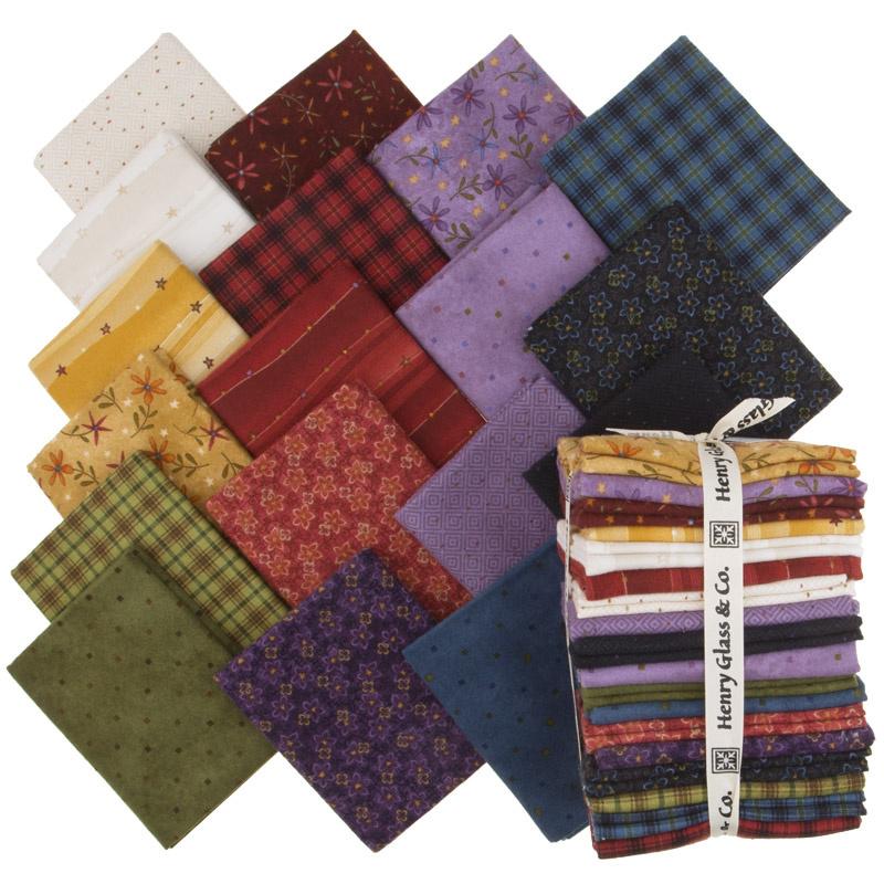 Folk Art Flannels 2 Fat Quarter Bundle
