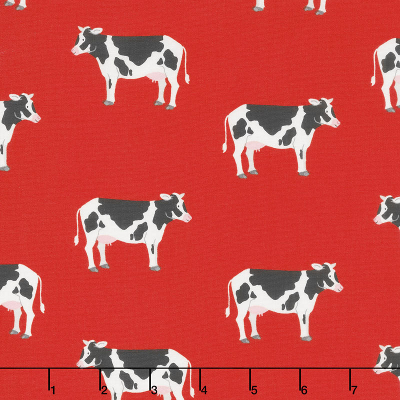 What do the Animals Say? - Cows Red Yardage
