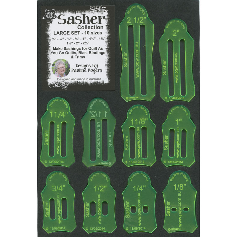 Jelly Roll Sasher Tool by Paulines Quilters World