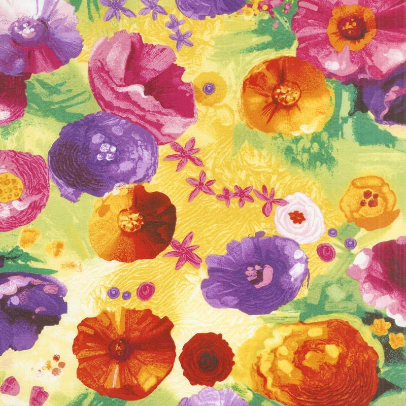 Dream - Fantasy Flowers Spring Yardage