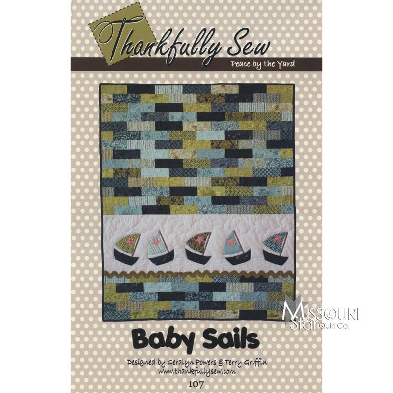Baby Sails Appliqué Quilt Pattern